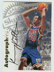 1997-98 SkyBox Premium Autographics #62 Kerry Kittles