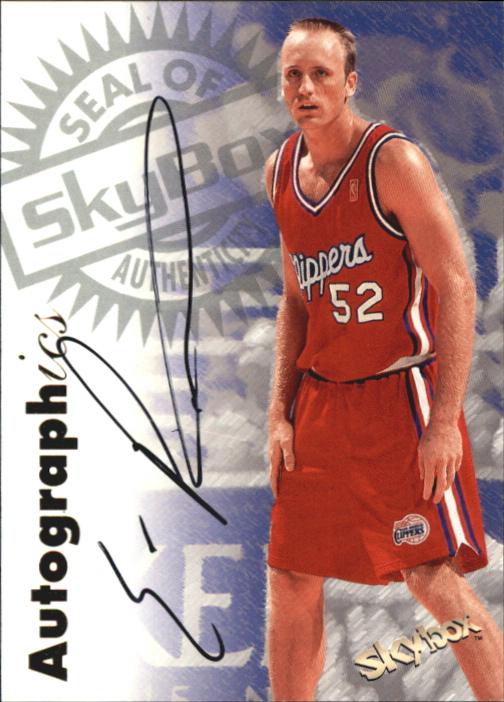 1997-98 SkyBox Premium Autographics #84 Eric Piatkowski