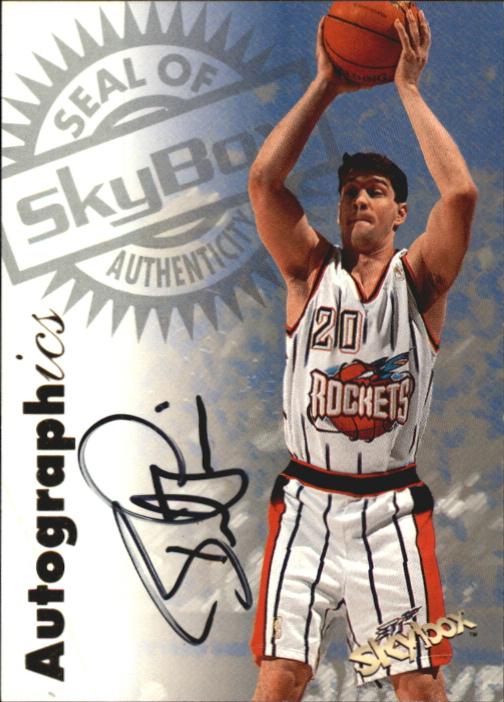 1997-98 SkyBox Premium Autographics #87 Brent Price
