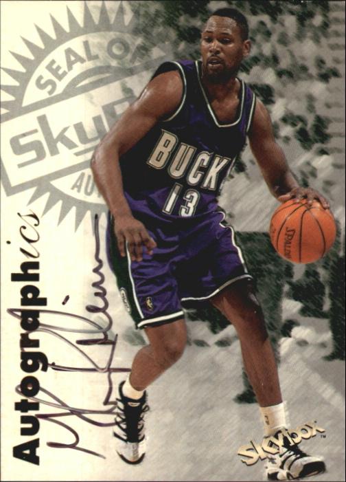 1997-98 SkyBox Premium Autographics #90 Glenn Robinson