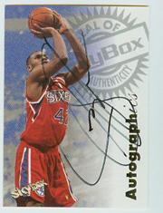 1997-98 SkyBox Premium Autographics #98 Jerry Stackhouse Sixers