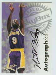 1997-98 SkyBox Premium Autographics #103 Nick Van Exel