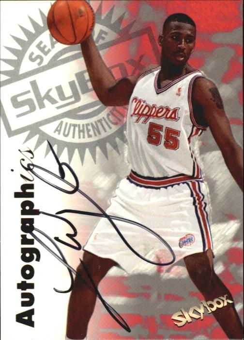 1997-98 SkyBox Premium Autographics #119 Lorenzen Wright