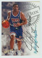 1997-98 SkyBox Premium Autographics Century Marks #54 Jim Jackson