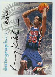 1997-98 SkyBox Premium Autographics Century Marks #62 Kerry Kittles