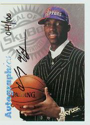 1997-98 SkyBox Premium Autographics Century Marks #71 Tracy McGrady