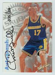 1997-98 SkyBox Premium Autographics Century Marks #78 Chris Mullin