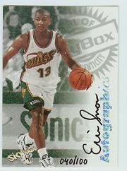 1997-98 SkyBox Premium Autographics Century Marks #96 Eric Snow