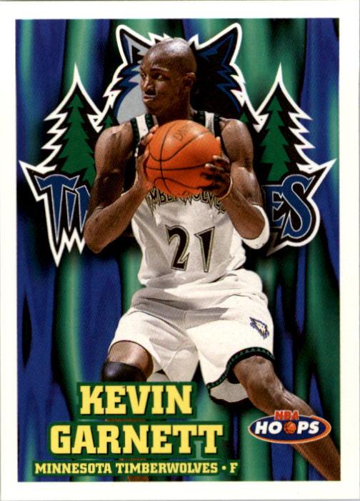 1997-98 Hoops #92 Kevin Garnett