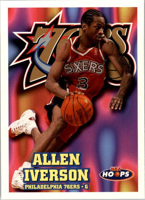 1997-98 Hoops #114 Allen Iverson