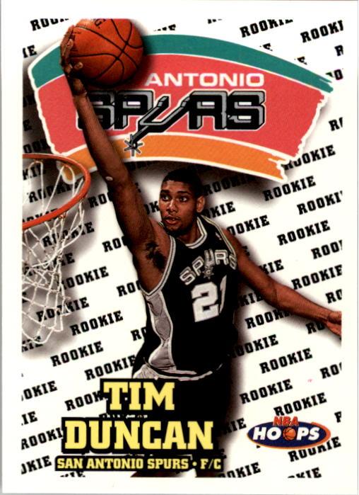 1997-98 Hoops #166 Tim Duncan RC