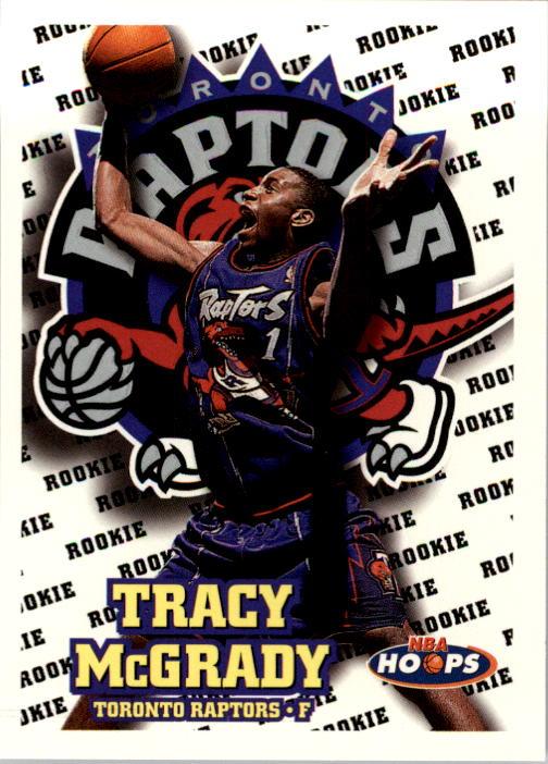 1997-98 Hoops #169 Tracy McGrady RC
