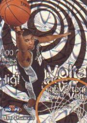 1997-98 Hoops High Voltage 500 #HV15 Tim Duncan