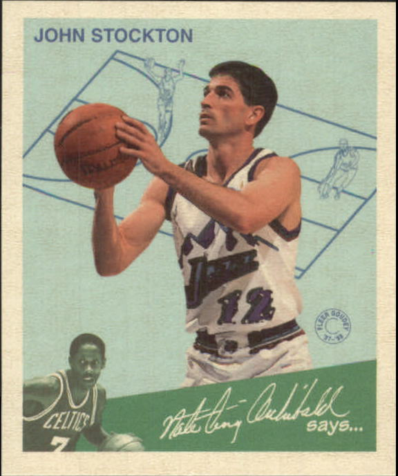 1997-98 Fleer Goudey Greats #13 John Stockton