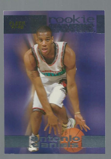 1997-98 Fleer Rookie Sensations #5 Antonio Daniels