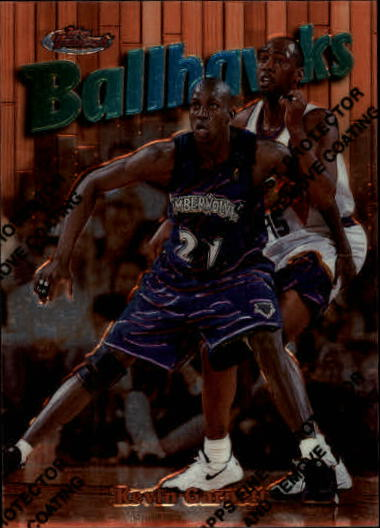 1997-98 Finest #61 Kevin Garnett B