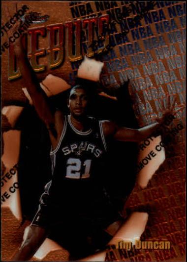 1997-98 Finest #101 Tim Duncan B RC