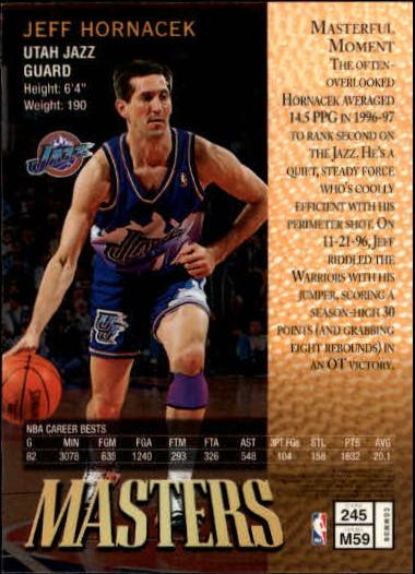 1997-98 Finest #246 Kevin Garnett B back image