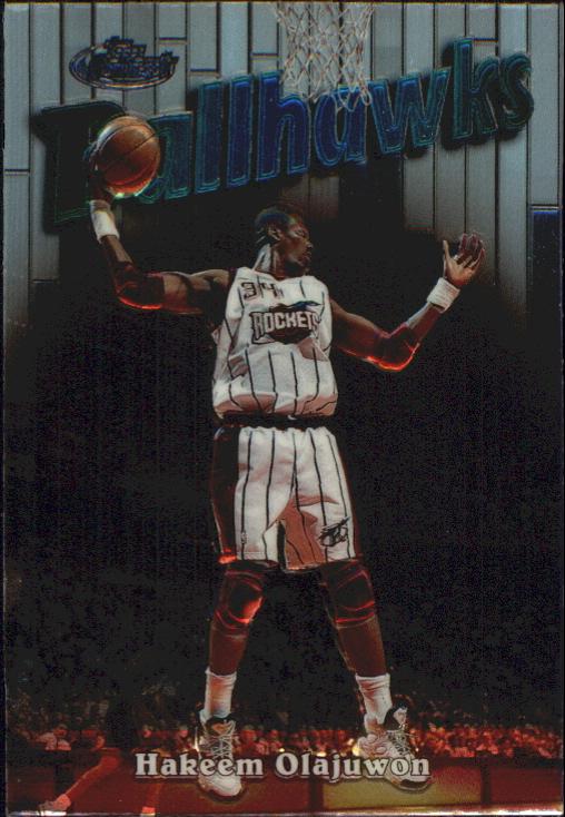1997-98 Finest Embossed #131 Hakeem Olajuwon S