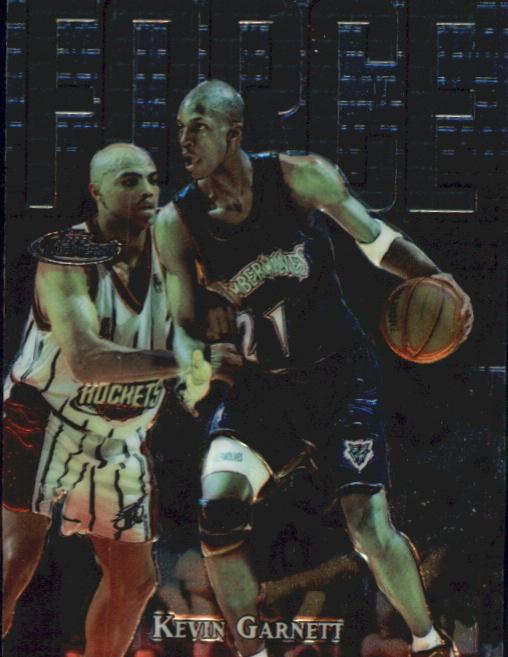 1997-98 Finest Embossed #136 Kevin Garnett S