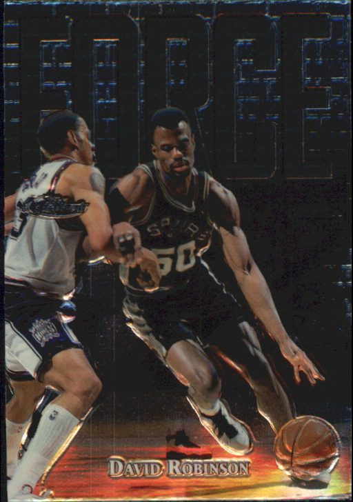 1997-98 Finest Embossed #146 David Robinson S