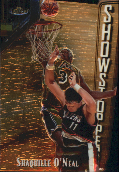1997-98 Finest Embossed #309 Shaquille O'Neal G