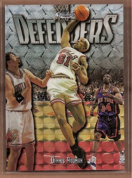 1997-98 Finest Embossed Refractors #275 Dennis Rodman S