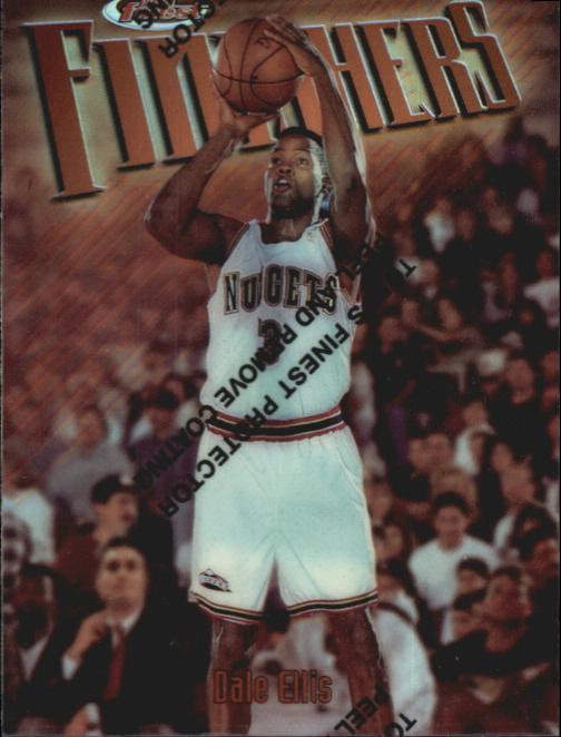 1997-98 Finest Refractors #5 Dale Ellis B