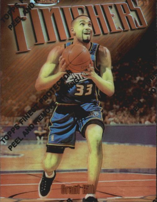 1997-98 Finest Refractors #40 Grant Hill B