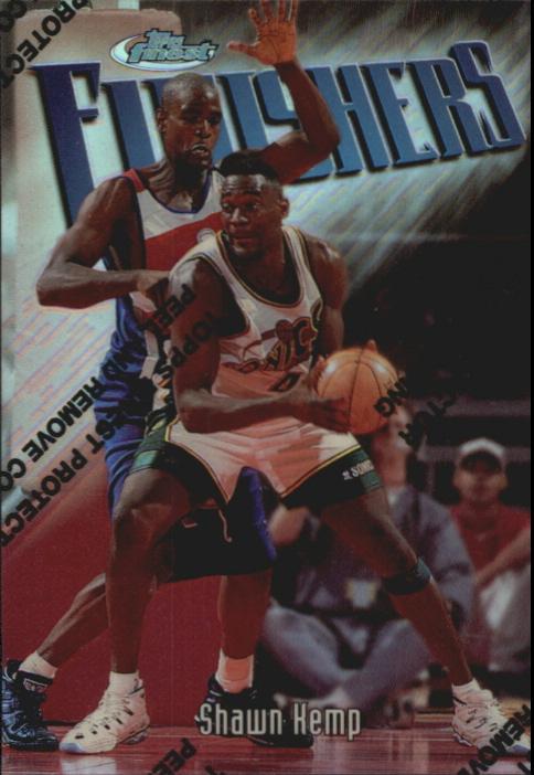 1997-98 Finest Refractors #130 Shawn Kemp S