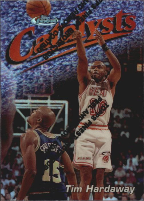 1997-98 Finest Refractors #132 Tim Hardaway S