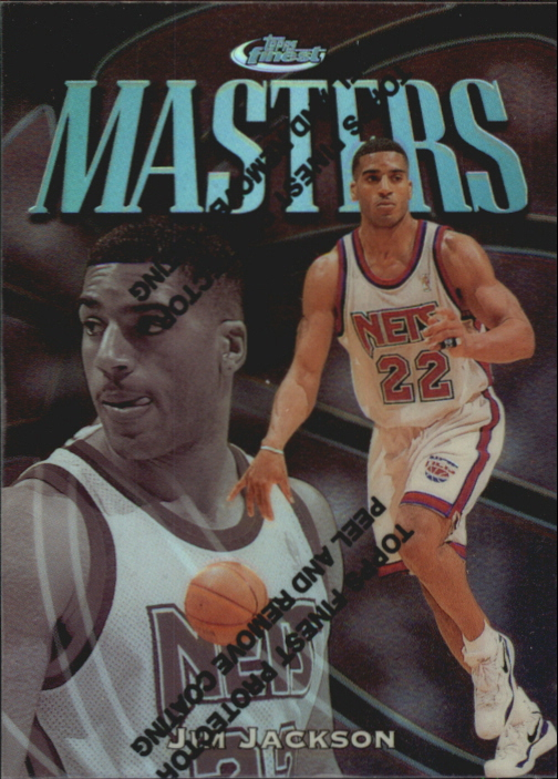 1997-98 Finest Refractors #135 Jim Jackson S