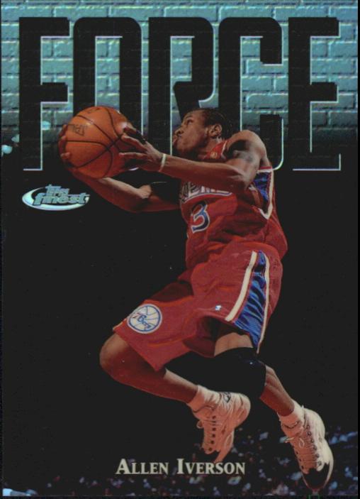 1997-98 Finest Refractors #143 Allen Iverson S