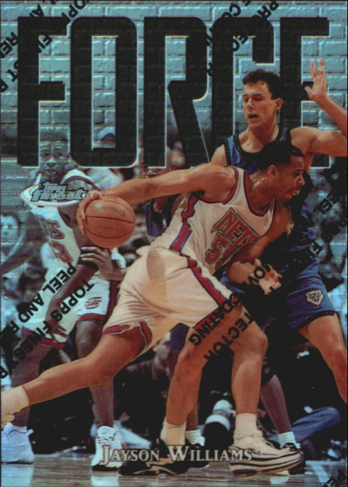 1997-98 Finest Refractors #147 Jayson Williams S