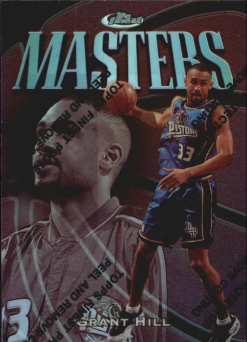 1997-98 Finest Refractors #149 Grant Hill S