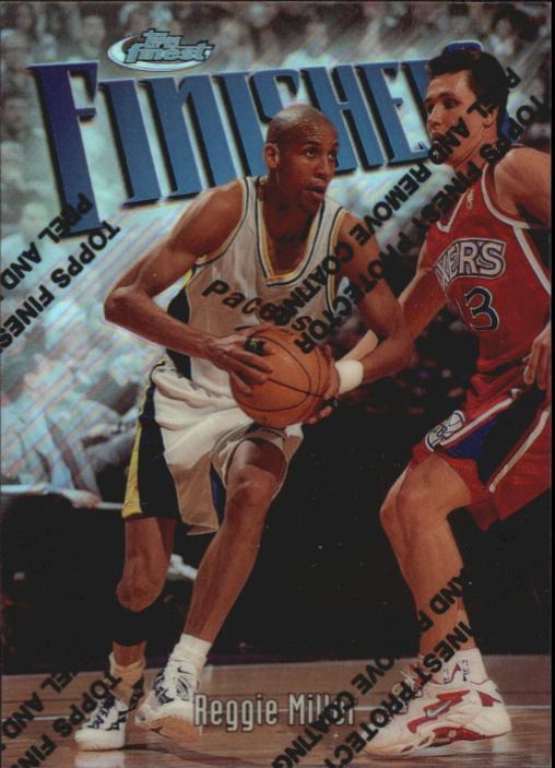 1997-98 Finest Refractors #150 Reggie Miller S
