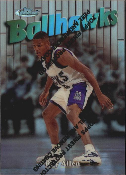 1997-98 Finest Refractors #152 Ray Allen S