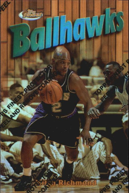 1997-98 Finest Refractors #164 Mitch Richmond G