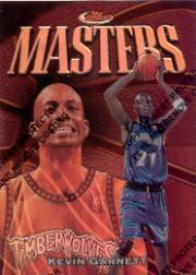 1997-98 Finest Refractors #246 Kevin Garnett B