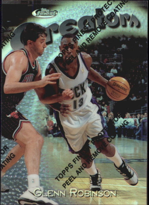 1997-98 Finest Refractors #288 Glenn Robinson S