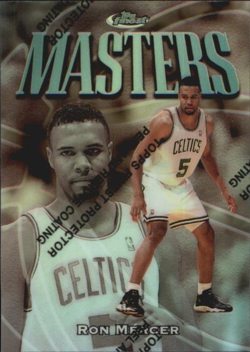 1997-98 Finest Refractors #293 Ron Mercer S