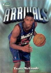 1997-98 Finest Refractors #294 Tracy McGrady S