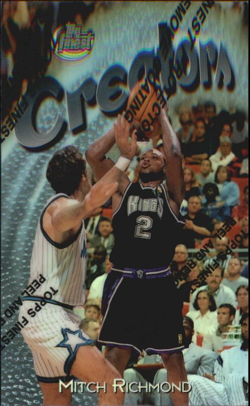 1997-98 Finest Refractors #299 Mitch Richmond S