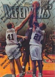 1997-98 Finest Refractors #306 Tim Duncan S