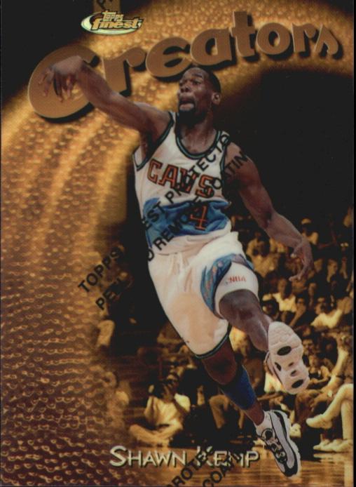 1997-98 Finest Refractors #311 Shawn Kemp G