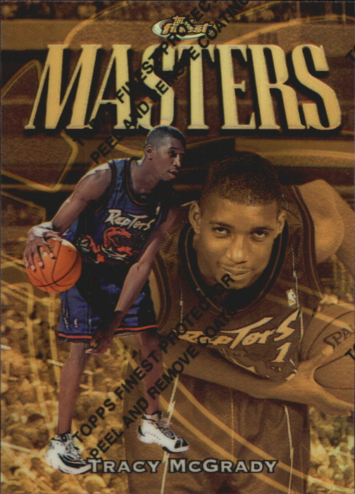 1997-98 Finest Refractors #316 Tracy McGrady G