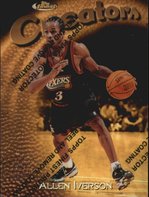 1997-98 Finest Refractors #320 Allen Iverson G