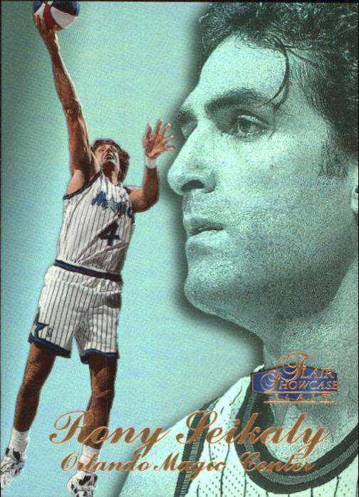 1997-98 Flair Showcase Row 3 #70 Rony Seikaly