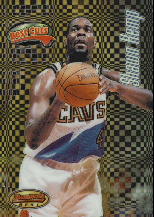 1997-98 Bowman's Best Cuts Refractors #BC7 Shawn Kemp