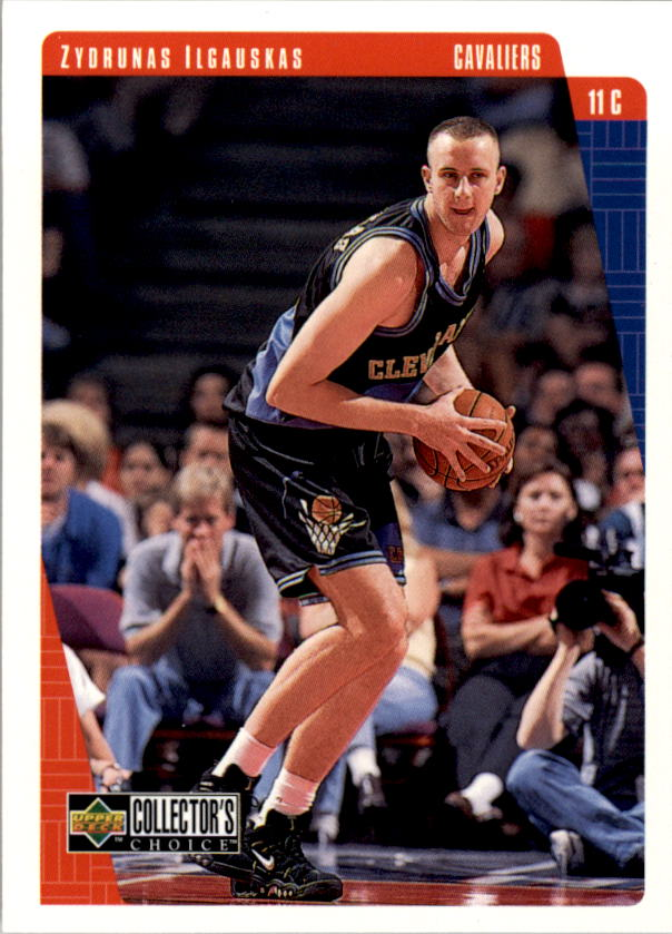 1997-98 Collector's Choice #223 Zydrunas Ilgauskas